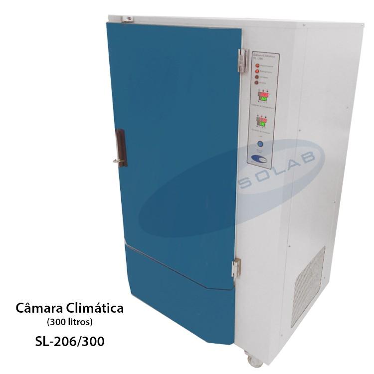 Câmara climática para laboratório