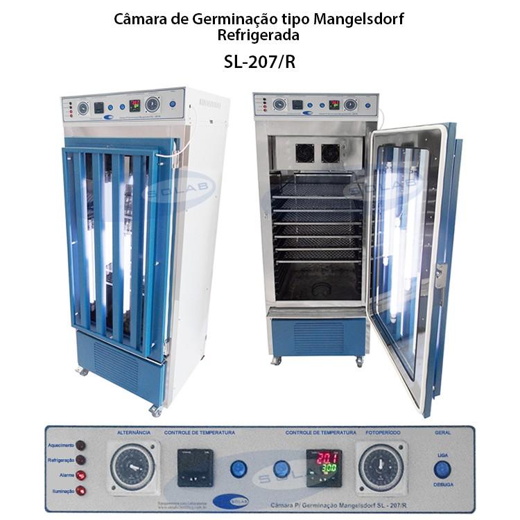 Câmara de germinação tipo mangelsdorf
