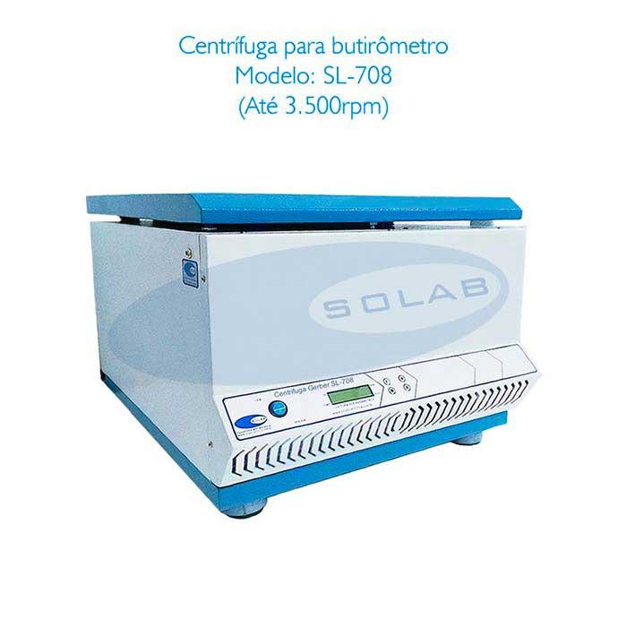 Centrífuga para butirômetro