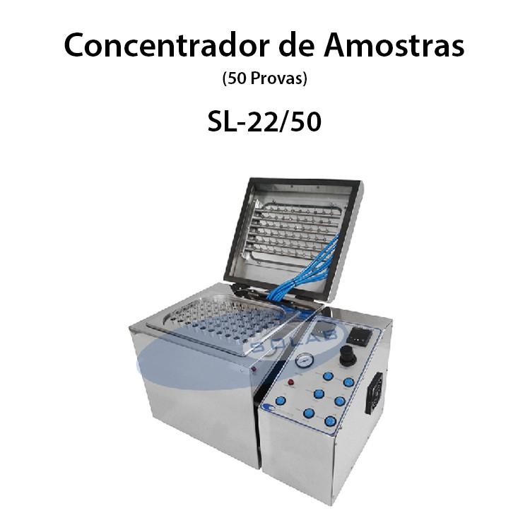 Concentrador de amostras nitrogênio