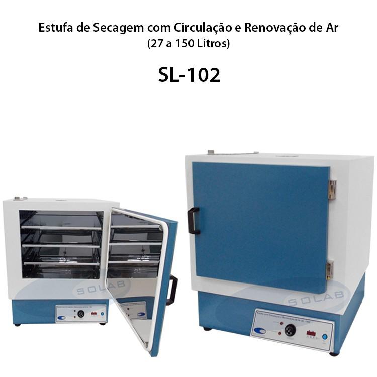 Estufa para secagem de amostras