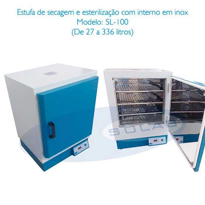 Estufa secagem laboratório