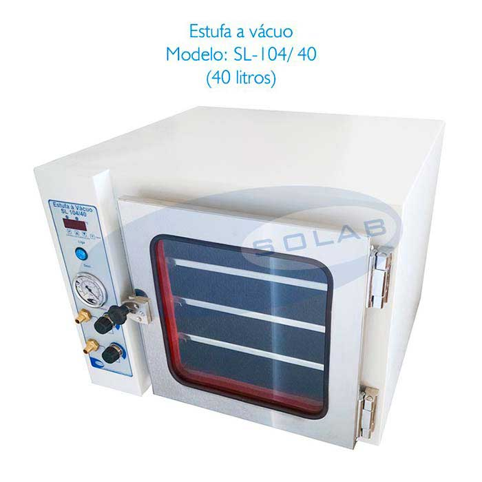 Estufa à vácuo para laboratório