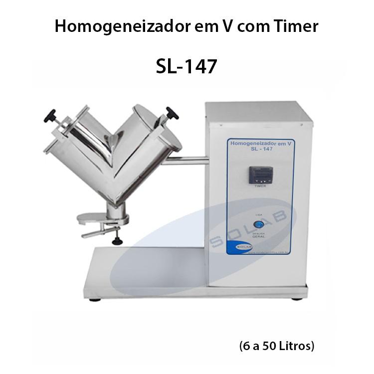 Homogeneizador em v