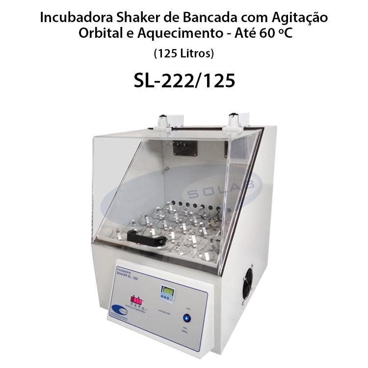 Incubadora shaker preço