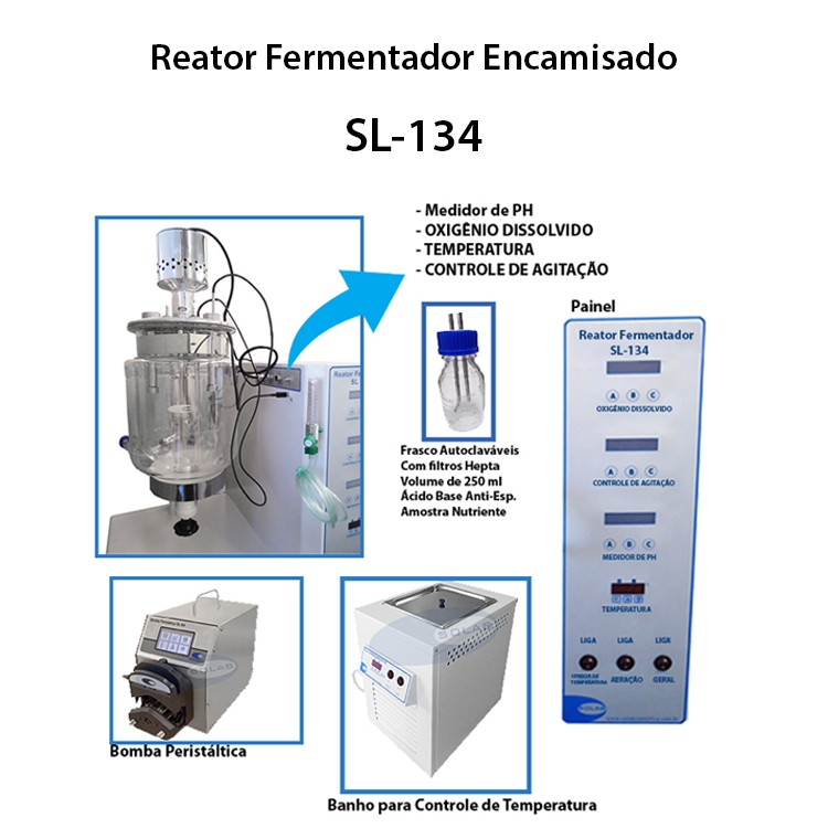 Reator fermentador comprar