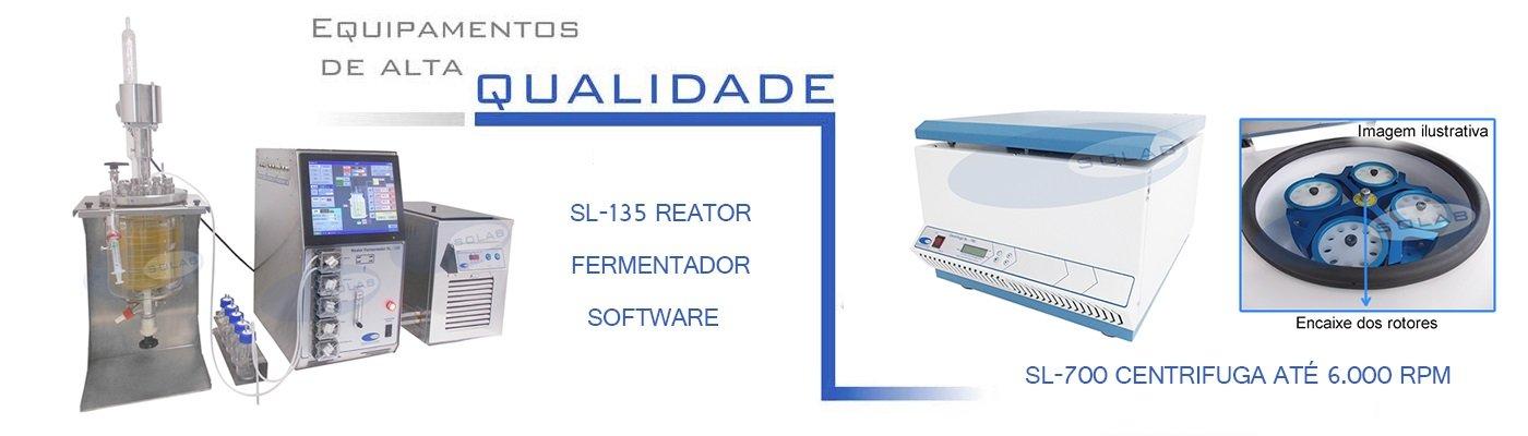 SL-135/5 - Reator fermentador com software e tela touch (Finame: 03471331)