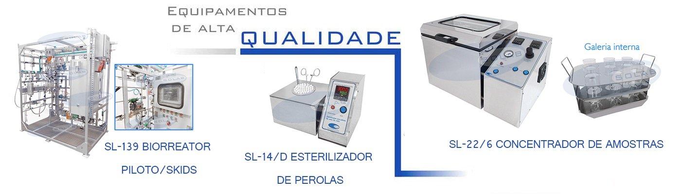 SL-14/A - Esterilizador com pérola de vidro (Analógico)