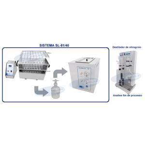 SL-81/40 - Sistema para Determinação de Nitrogênio e Proteína Micro