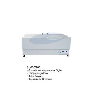 SL-150/100 - Banho Maria Com Aquecimento Digital Cuba Soldada (Especial)