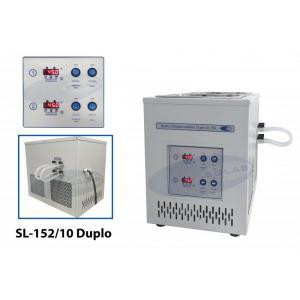 SL-152/10 Duplo - Banho Ultratermostatizado Digital Duplo e Controle Individual