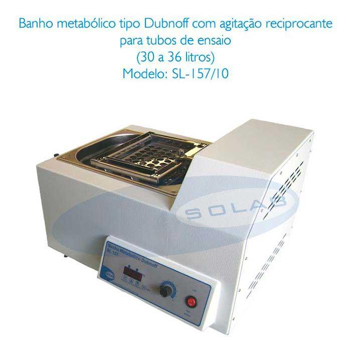 Banho dubnoff microprocessado