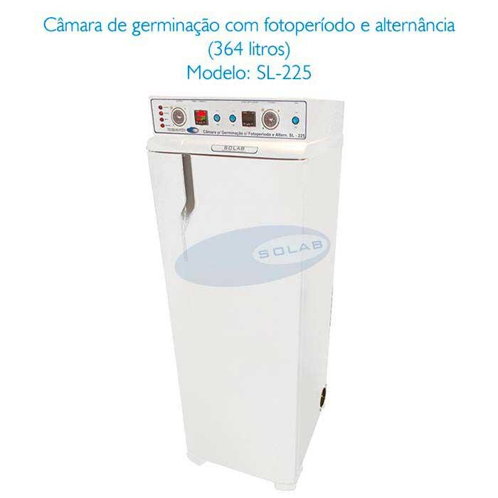 Câmara de germinação com alternância de temperatura e fotoperíodo