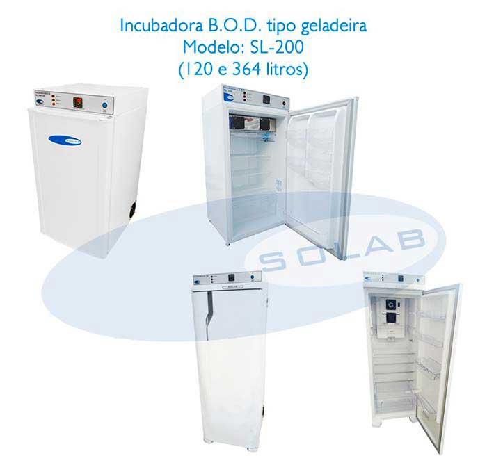 Câmara incubadora bod