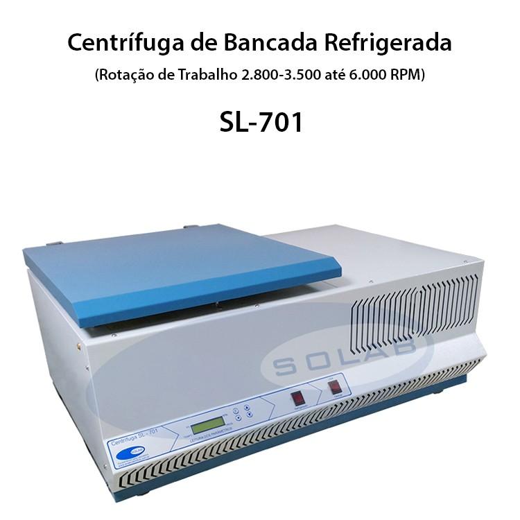 Centrifuga refrigerada de bancada