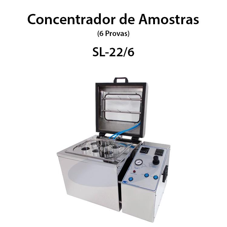 Concentrador de amostras a vácuo