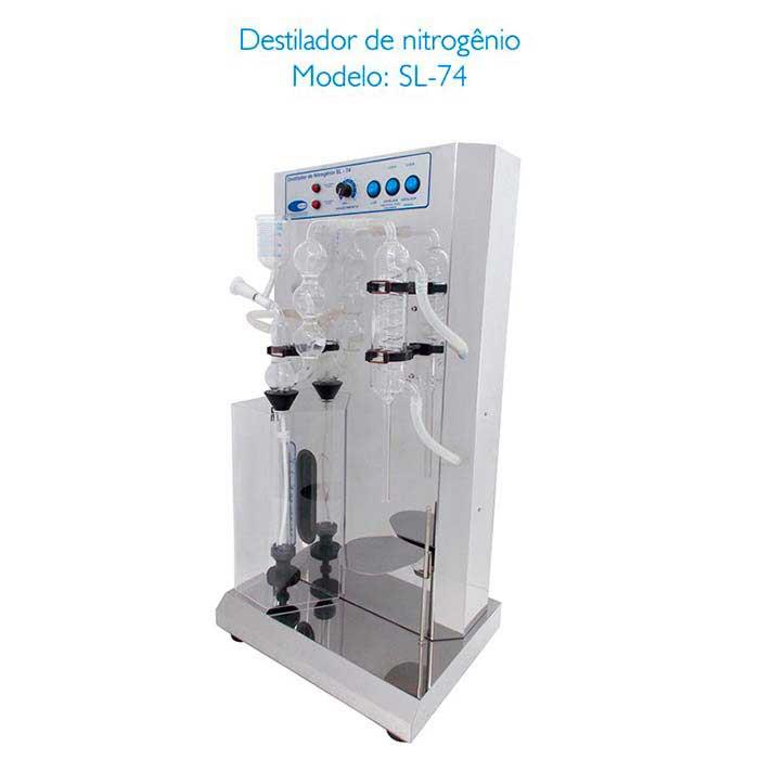Destilador de nitrogênio para laboratório