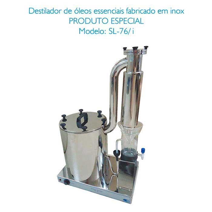 Destilador de óleos essenciais preço