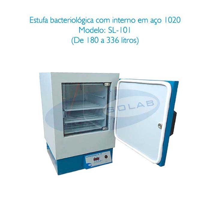 Estufa bacteriológica laboratório