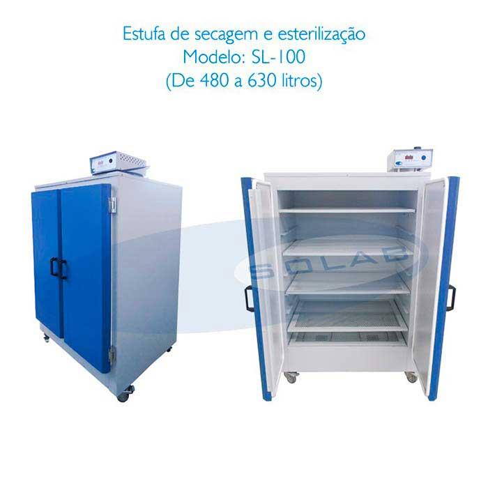 Estufa de esterilização e secagem