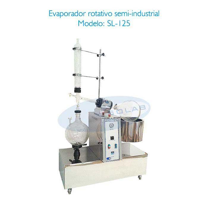 Evaporador rotativo à vácuo