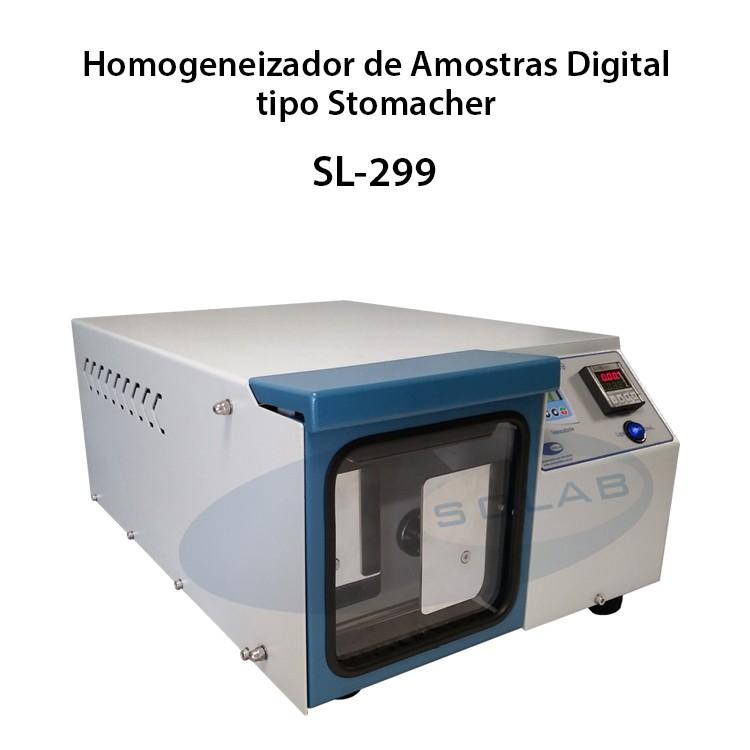 Homogeneizador de amostras tipo stomacher