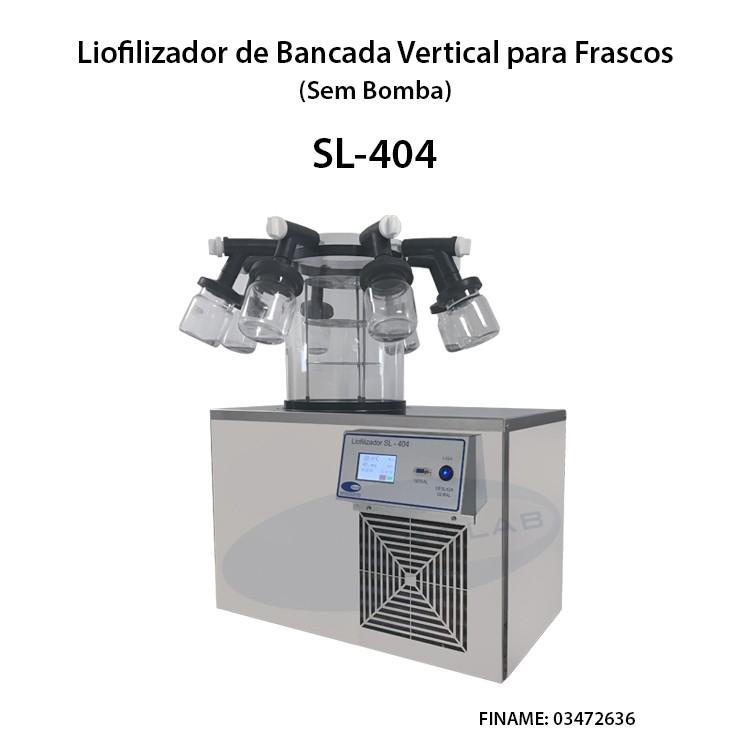 Liofilizador de laboratório