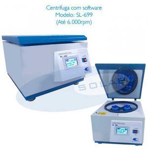 Centrífuga de laboratório