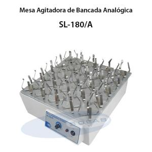 Mesa agitadora com movimento orbital