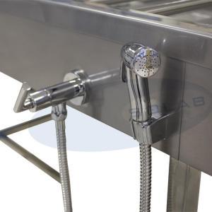 SL-409/1 - Mesa Necropsia Suporte Craniano e Triturador