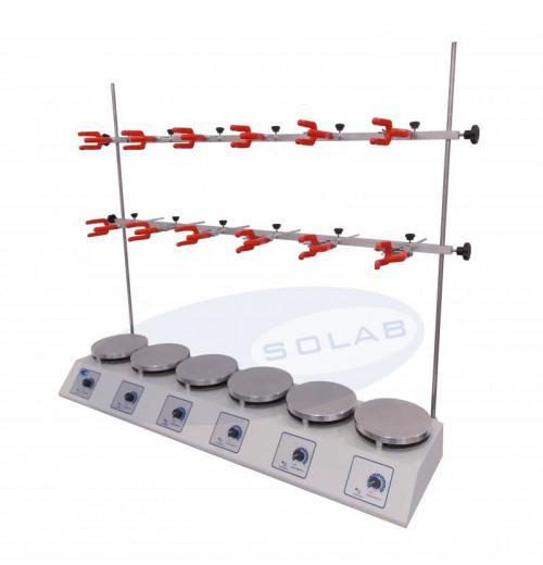 SL-145/6AL - Bateria de extração tipo Sebelin com plataforma em alumínio (6 provas)