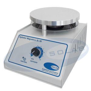 SL-90 - Agitador Magnético Analógico (Sem Aquecimento)