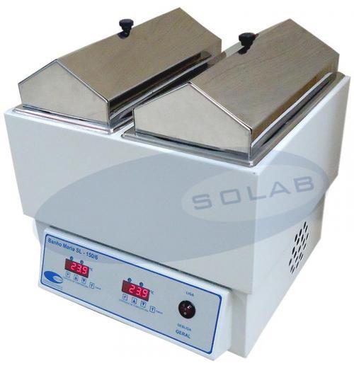 SL-150/6-E - Banho Maria Com Aquecimento Digital Duplo