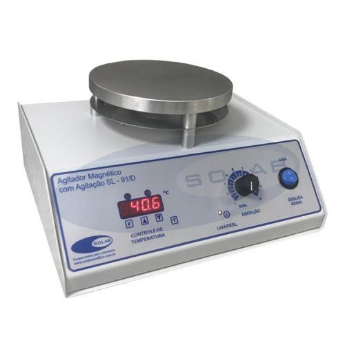 SL-91/D - Agitador Magnético Digital (Com Aquecimento)