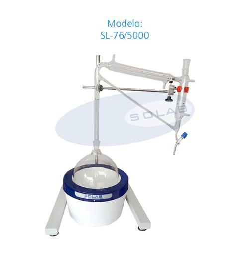 SL-76/5000 - Destilador para Óleos Essenciais tipo Clevenger