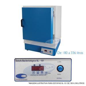 SL-101 - Estufa Bacteriológica (180 a 336 Litros)