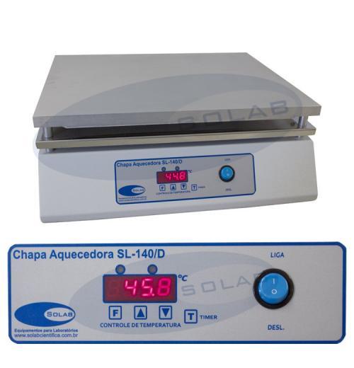 SL-140/D - Chapa aquecedora (Digital)