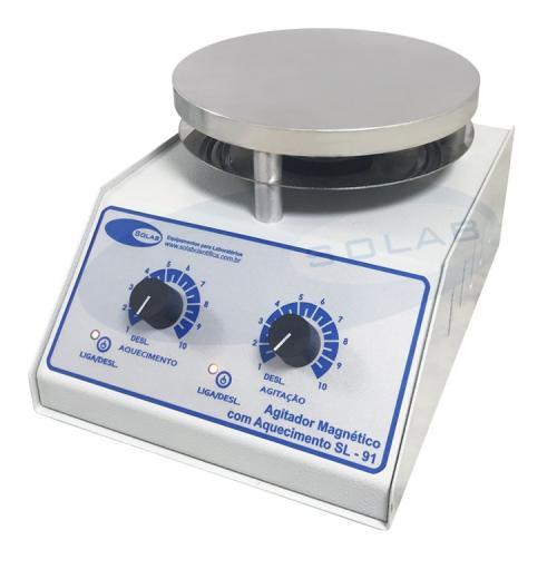 SL-91/A - Agitador Magnético Analógico (Com Aquecimento)