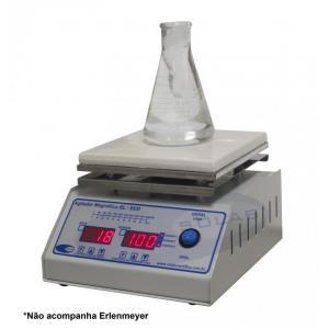 SL-92/P - Agitador Magnético Digital (Com Aquecimento - Plataforma Pirocerâmica)